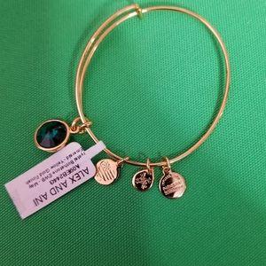 NWT Alex and Ani birthstone bracelet May